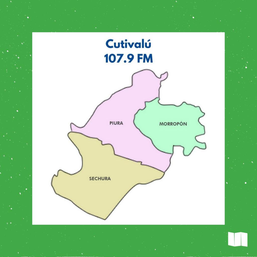 Mapa ilustrativo de las provincias de Piura Región.